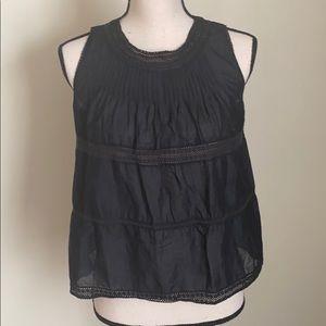 Madewell Black Sleeveless Tank Top Size XS